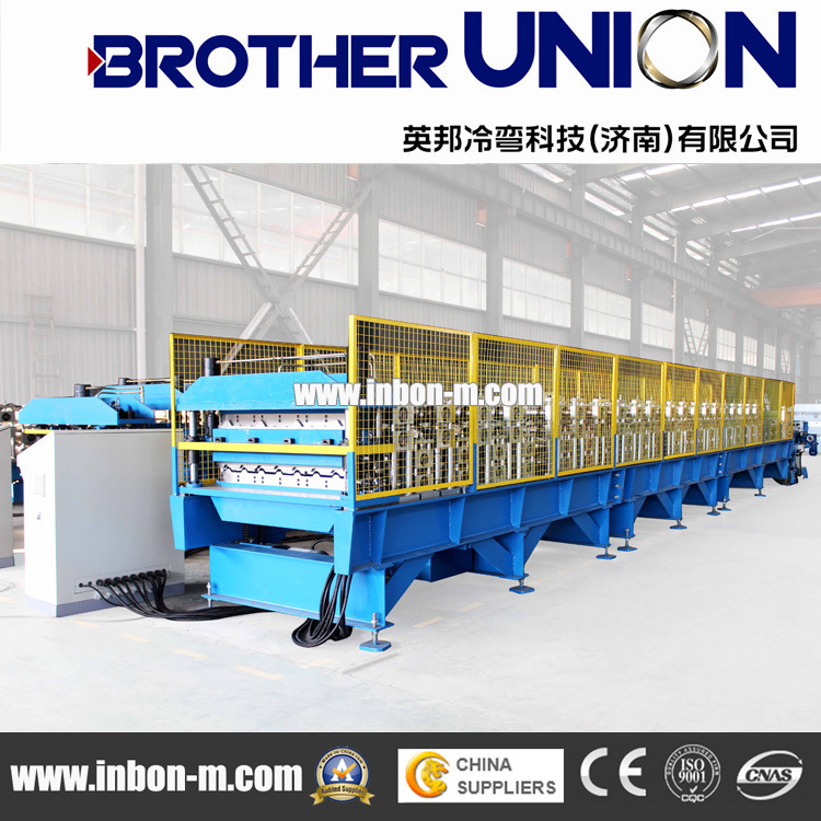 Double Layer Roof Panel Roll Forming Line
