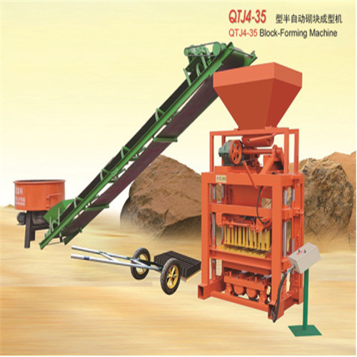 Qtj4-35 Brick Making Machine