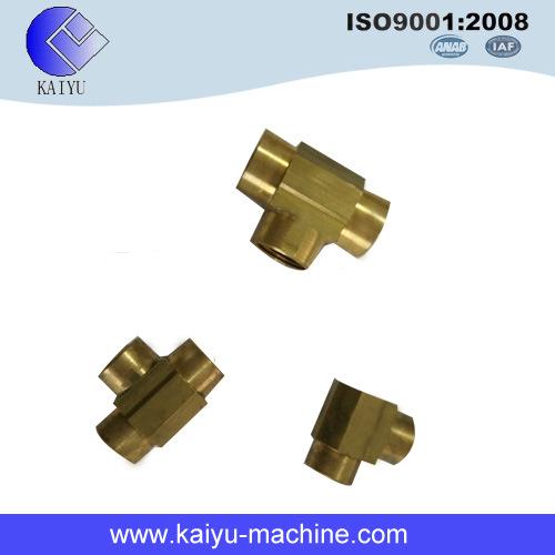 SAE Flareless Hydraulic Adaptor Tee Fitting