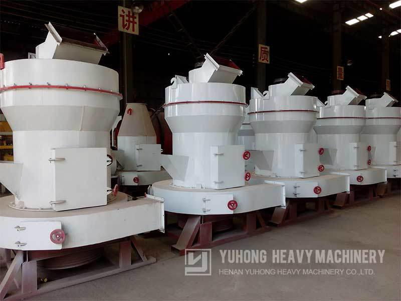 2017 Yuhong Raymond Mill for Barite Powder Grinding Mill Production Line
