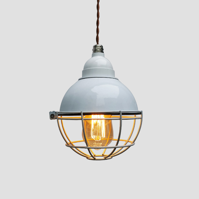 Vintage Industrial Enamel Lamp Shade Pendant Lamp for Home Decoration