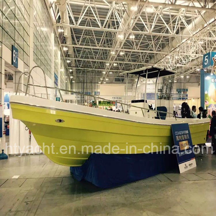 26′ Fiberglass Japanese Fishing Boat Hangtong Factory-Direct