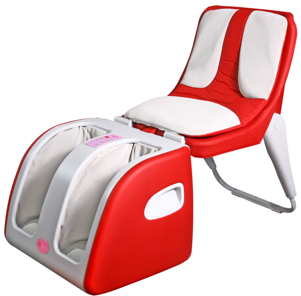 Electric Full Body Massage Chair Recliner W/Heat Stretched Foot Rest