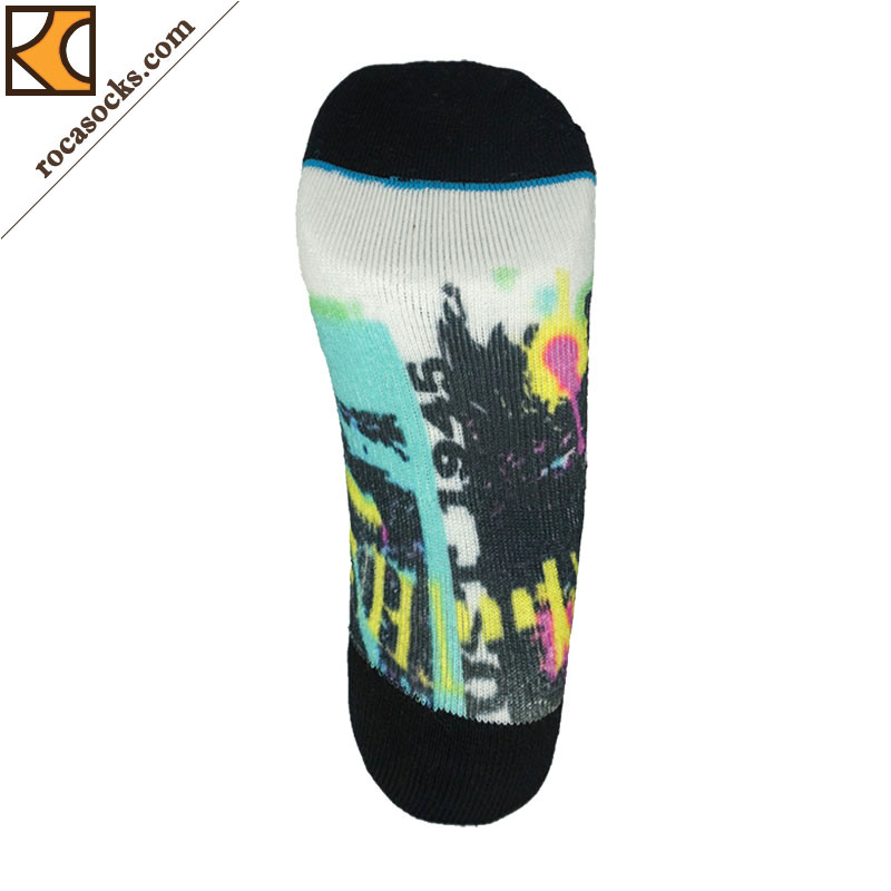Women′s Fashionable 3D Digital Printing Socks (162044SK)