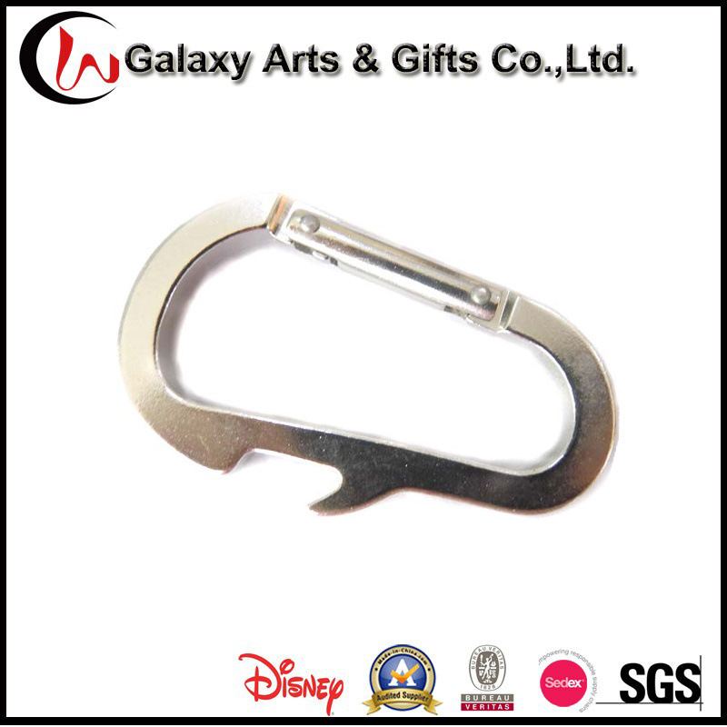 Customized Aluminum Carabiner Bottle Opener