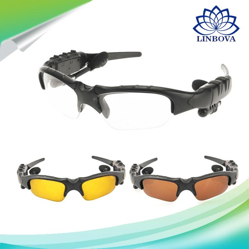 Outdoor Sunglasses Bluetooth 4.1 Smart Sunglasses with Mic Bluetooth Headset