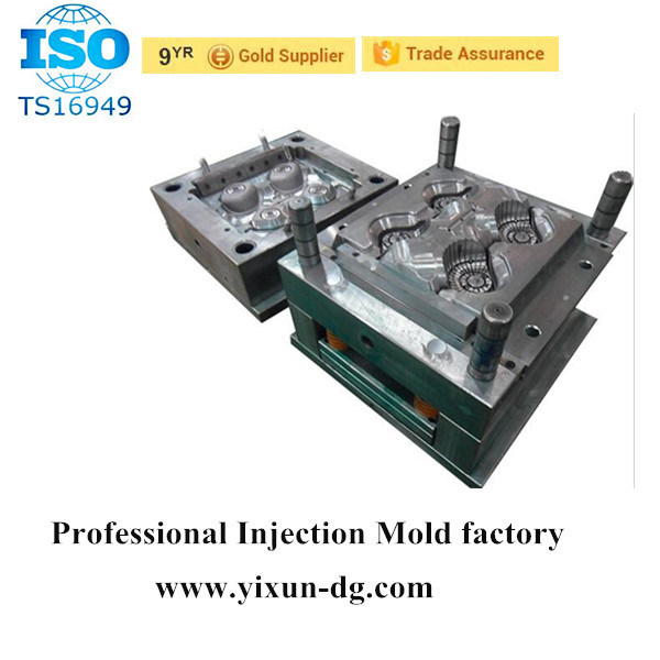 Plastic Injection Double Color Mould Product, Plastic Pen Sheel Parts