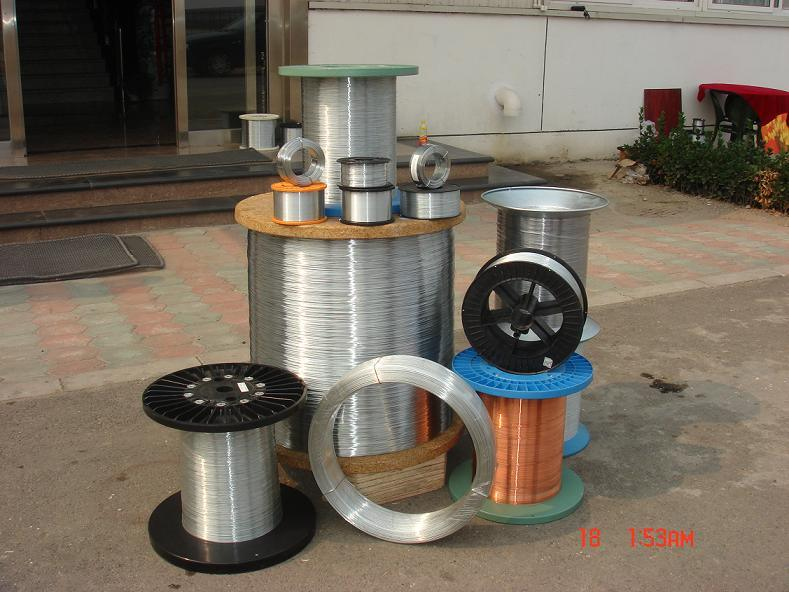 Axial Filament Spool Wire Galvanized Wire