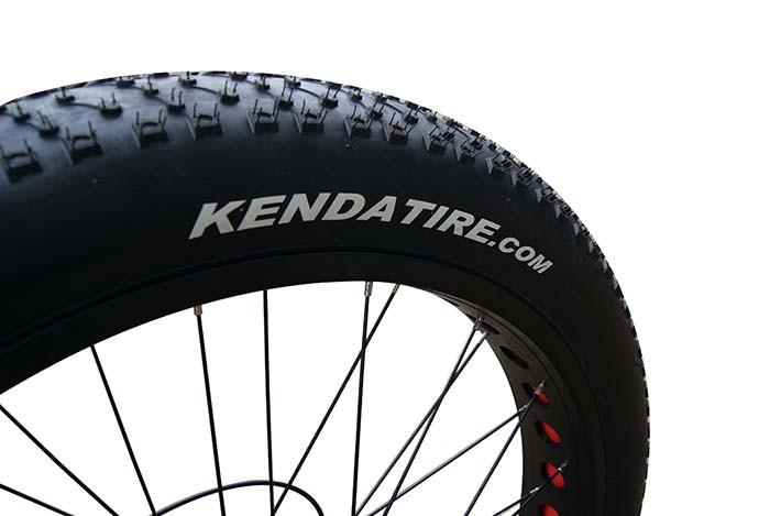 48V 750W Wheel Hub Motor Electric Fat Tyre Bike