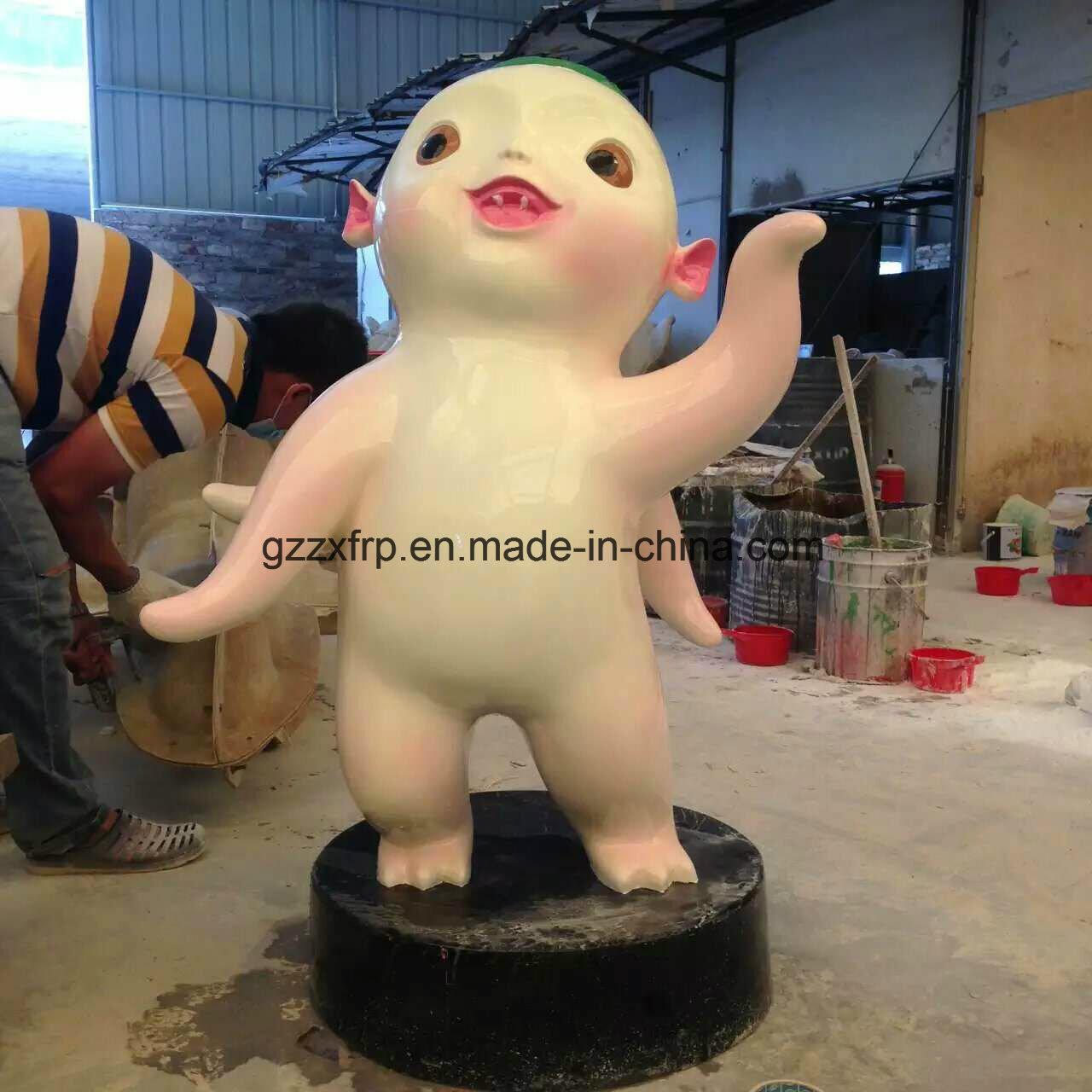 FRP/Fiberglass Hand Lay-up Handicraft/Cartoon Figures