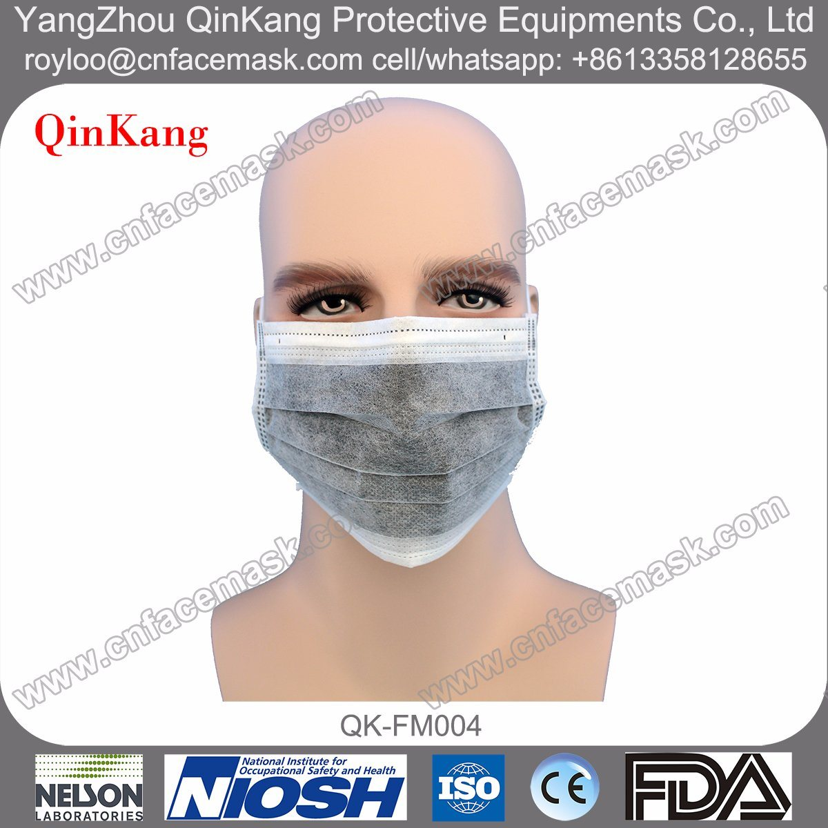 Disposable Non-Woven Active Carbon Surgical Masks