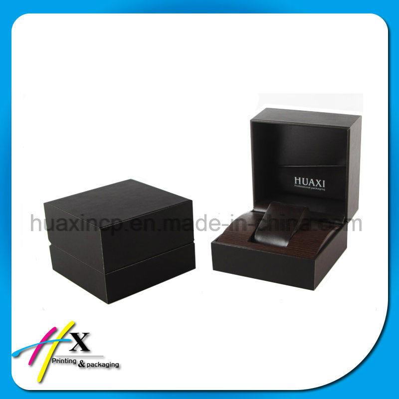 Custom Black Paino Lacquered Wooden Watch Box
