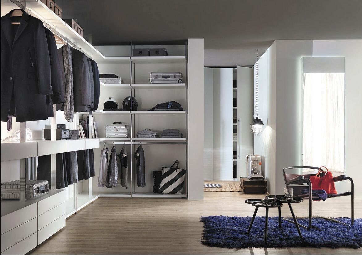 Modern Design MDF Customized Dressing Room Wardrobe Cupboard
