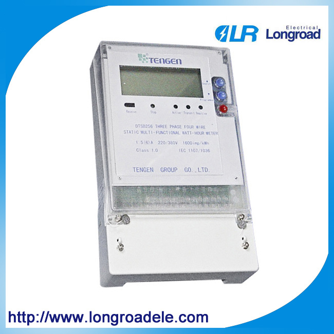 Three Phase Electronic Multifunctional Power Meter (Class: 0.5,1.0)