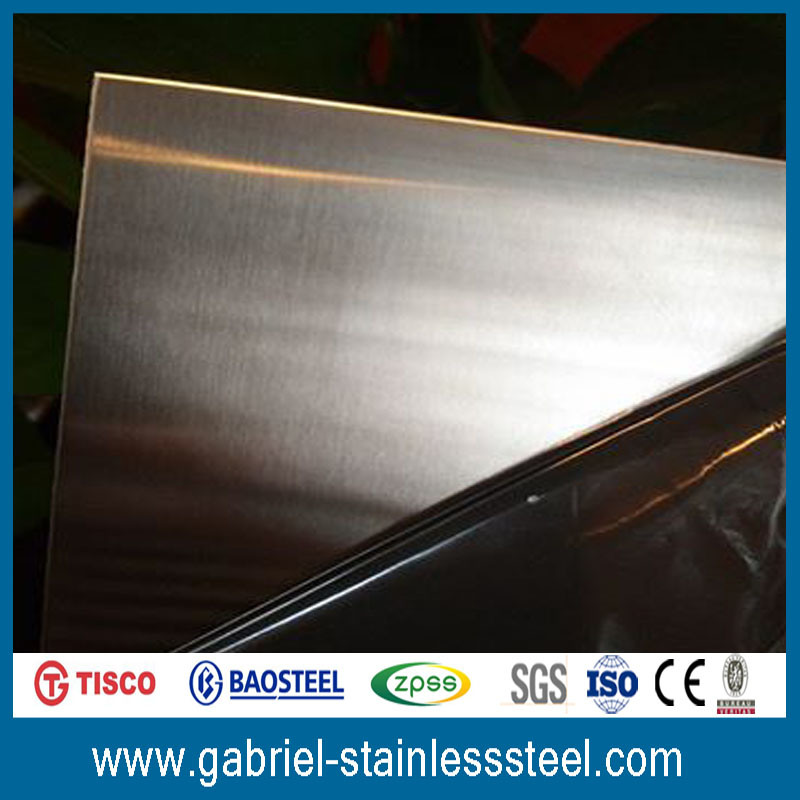 304 Hairline Finish 0.8mm Stainless Steel Sheet