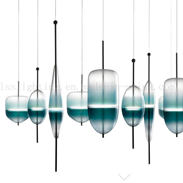 Italian Stype Glass LED Pendant Lamp for Room Decorative Hanging Lighting