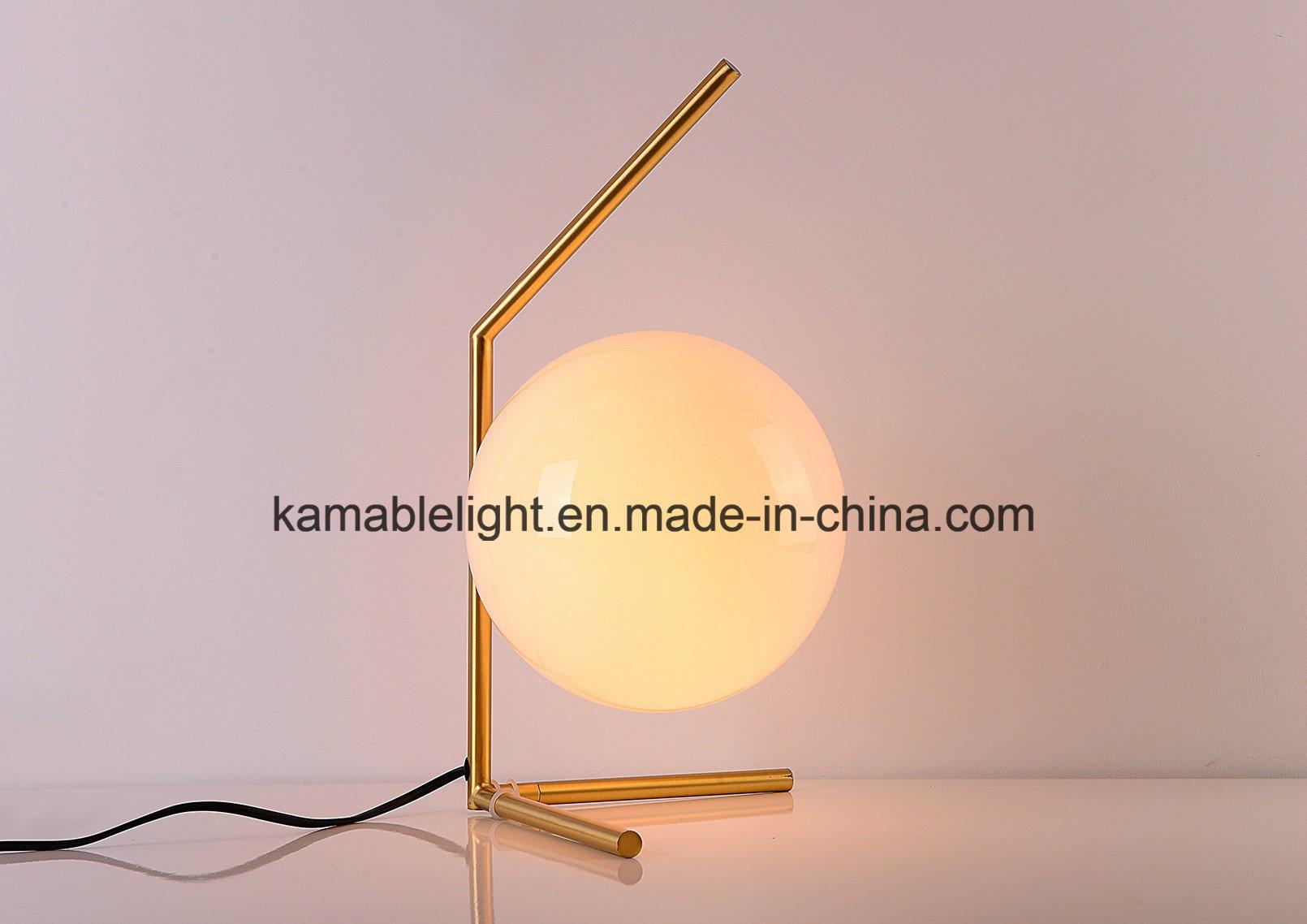 Newest Modern Design Ball Desk Lamp (KAMT8108-1B-200)
