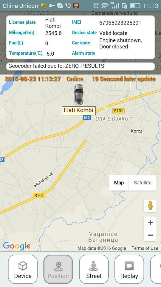 OBD II GPRS GPS Tracking with Wireless Immobilizer (TK208-KW)