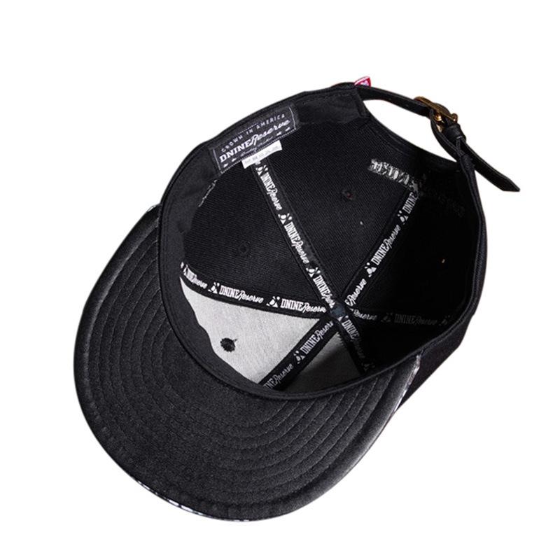 Custom Metal Logo 6 Panels Fashion Hip Hop Cap Snapback