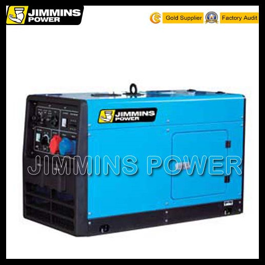 45-300A Welding Current 3kVA to 8kVA Portable Silent Diesel Generator and Welders Equipment Price