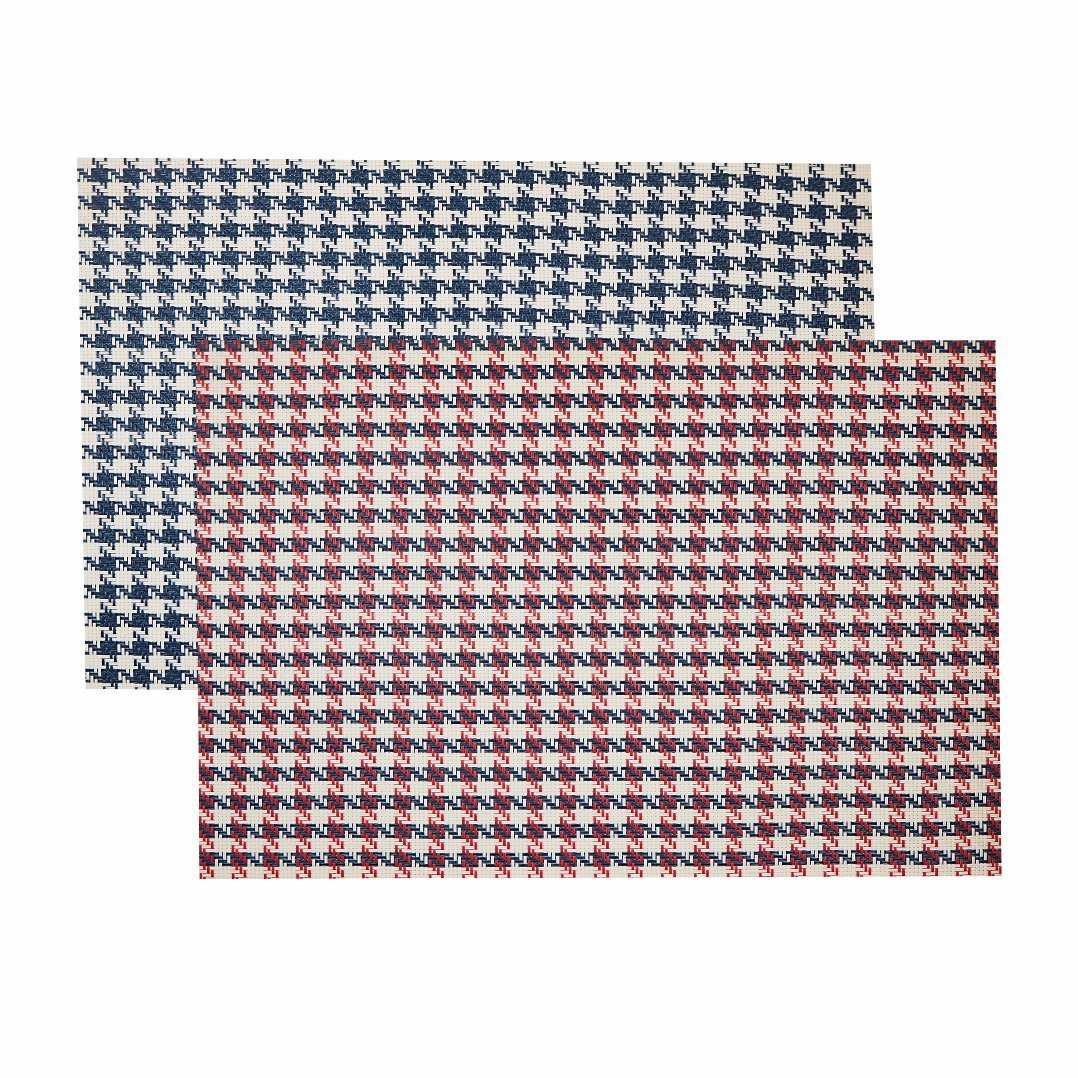 Classical Jacquard Weave Insulation Anti-Skid PVC Woven Placemat