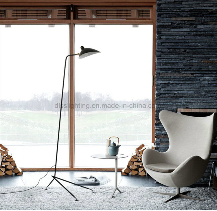 Nordic American Restaurant Floor Lamps Iron Ducks Lights Individuality Creative Single Head Tattoo Cloth Vertical Floor Lamps