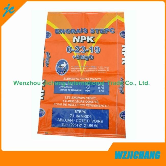 50kg Woven Polypropylene Packing Kraft Paper Cement Bag for Sale