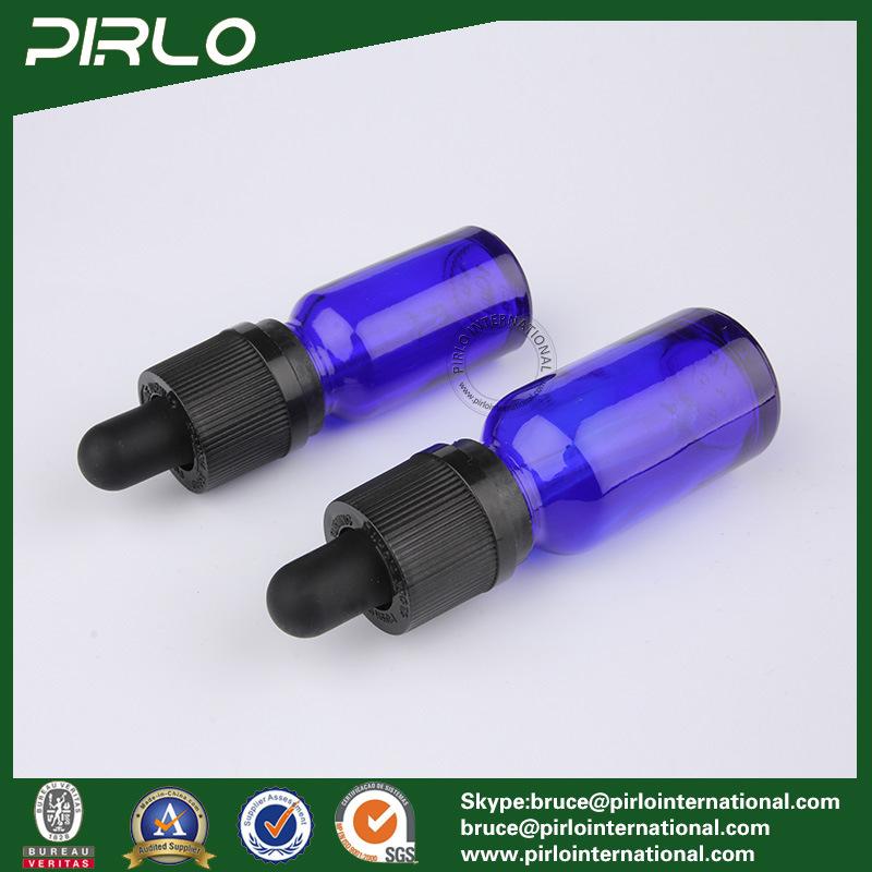 20ml 30ml 50ml 100ml Cobalt Blue Essential Oil Glass Bottles E-Liquidr