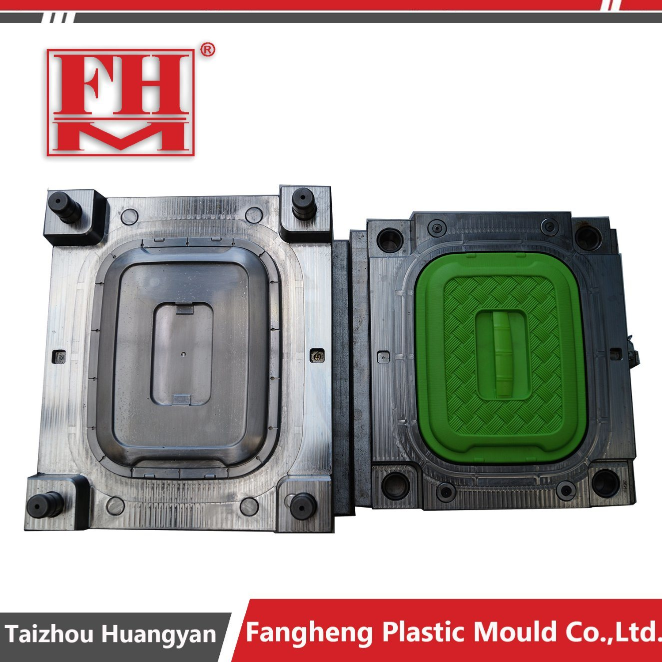 Plastic Rattan Storage Box Injection Mould