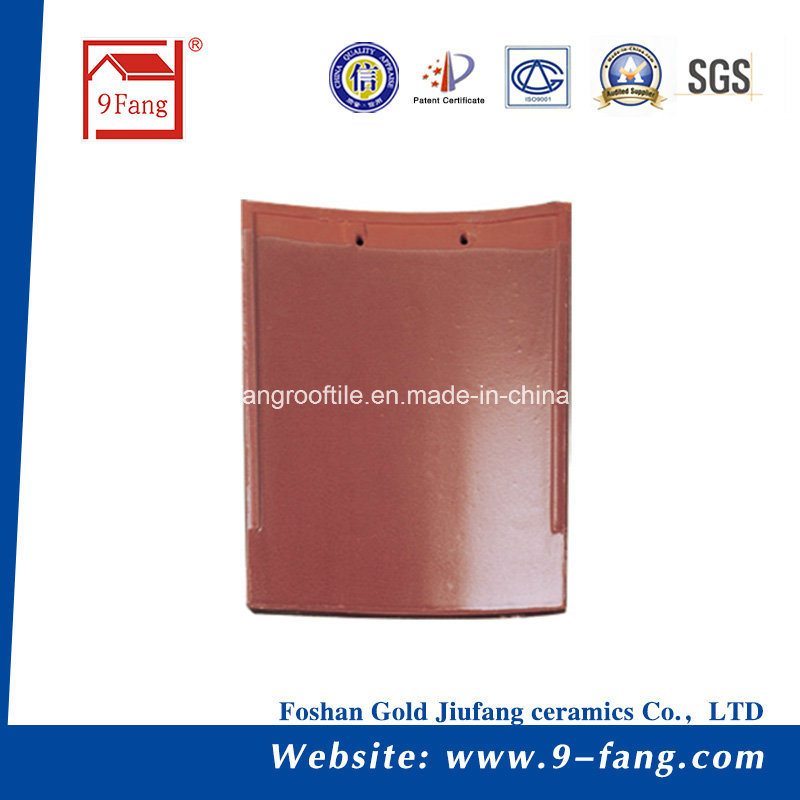 9fang Clay Roofing Tile Building Material Spanish Roof Tiles Decoration Tile Made in China