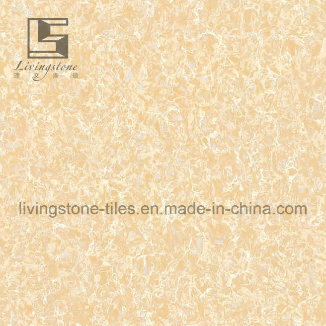 Yellow Color Pulati Polished Porcelain Tiles