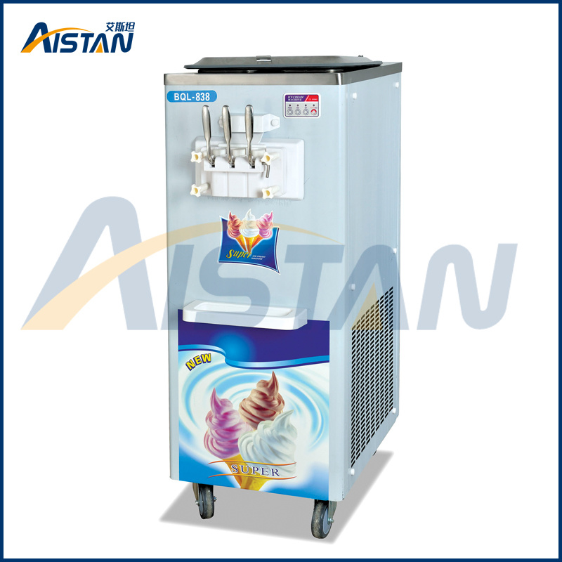 Bql839 Soft Ice Cream Maker Making Machine