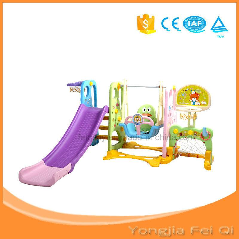 Indoor Playground Kid Slide Kid Swing Basketball Stand Football Door Kid Toy D Series