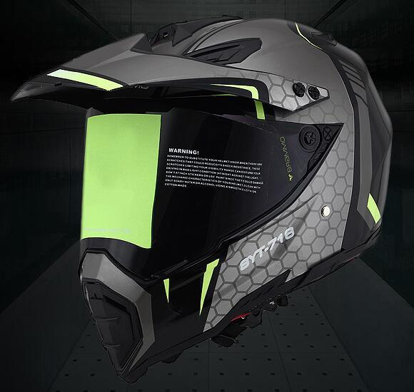 Colorful ABS Full Face Motorcycle Helmet Road Bike Helmet