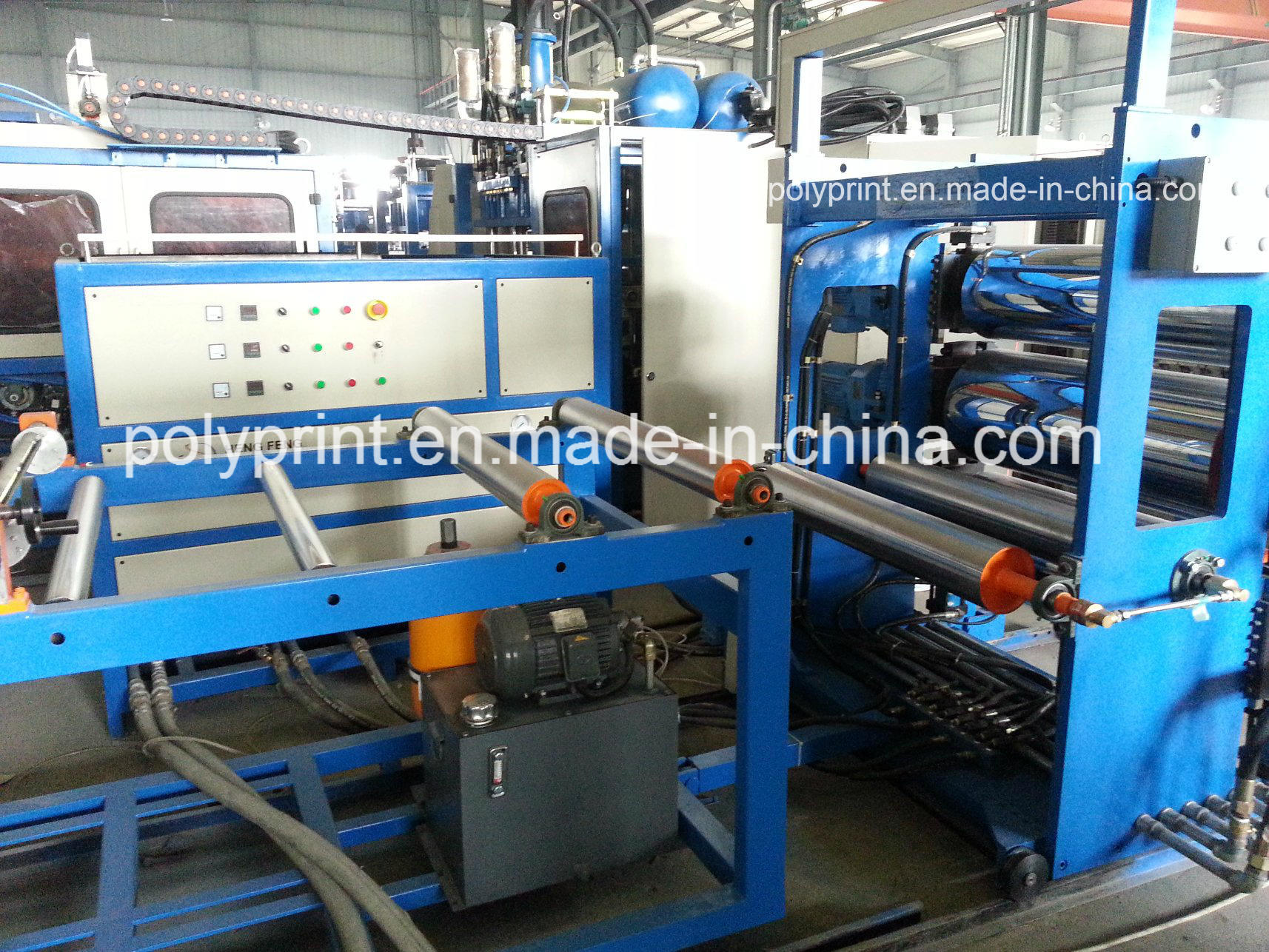 Plastic Sheet Extrusion Line Sheet Extruder for PP and HIPS Material