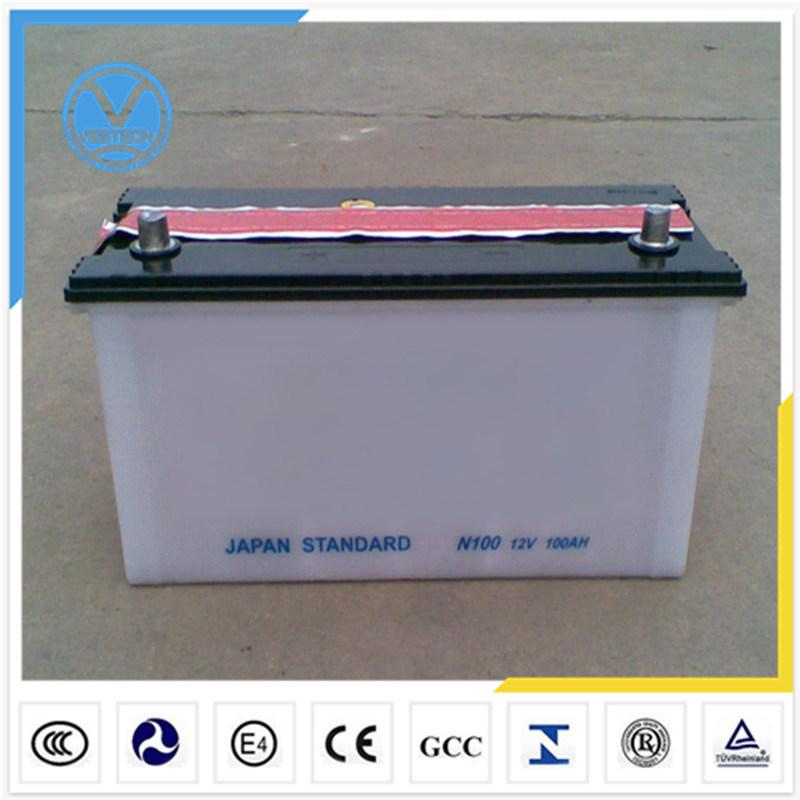 China Auto Truck Car Battery (12V 60ah)