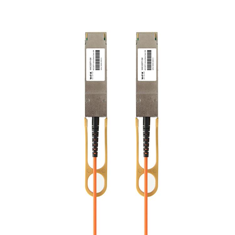 QSFP-H40G-AOC10M Compatible 40G QSFP+ Active Optical Cable