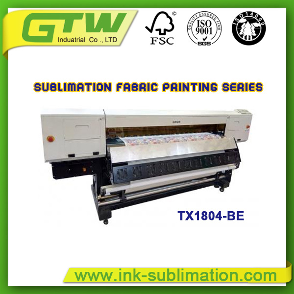 1800mm Inkjet Printer with Four 5113 Print Heads Tx1804-Be for Digital Printing