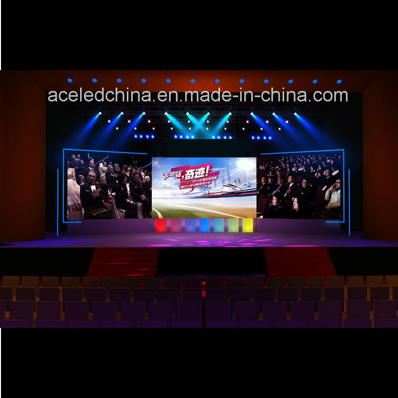 2017 Indoor Rental Advertising LED Video Wall Screen P2.5 P3 P4 P5 P6, P7.62, P10
