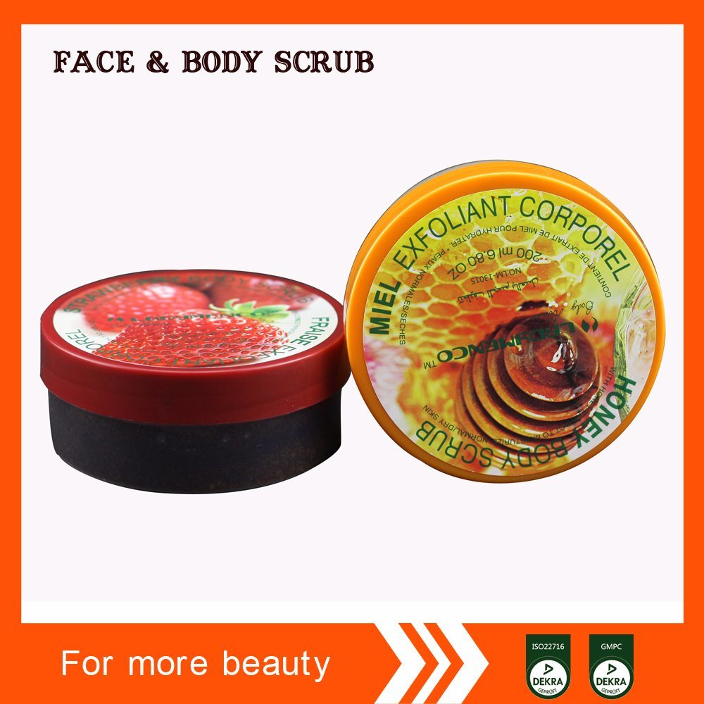 Professional Face Care Body Care Manufacturer Located in Guangzhou OEM/ODM Service Skin Care Honey Body Scrub