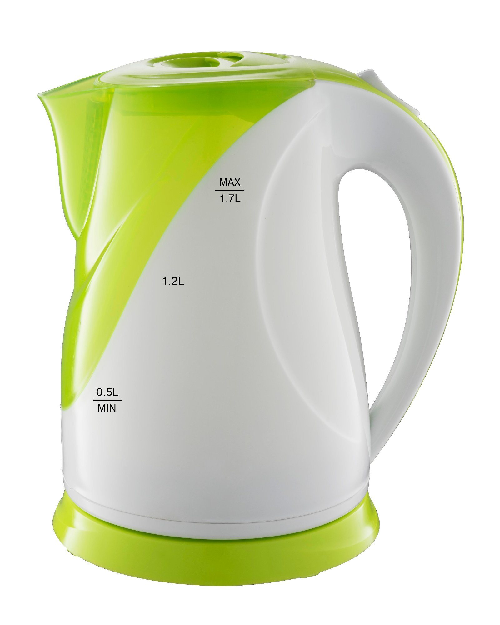 Electric Plastic Kettle 360 Degree Cordless with LED Light Fx-816
