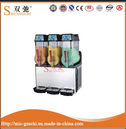 3 Cylinder Cold Fruit Juice Dispenser Slush Machine