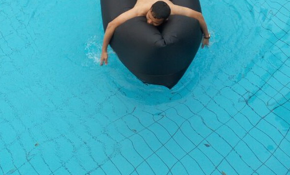 New Designs Inflatable Air Lounger (H43)