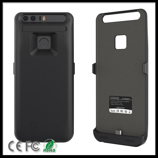 3800mAh External Battery Backup Power Charger Case Cover Pack Power Bank for Huawwei Honor 8 Mobile Phone