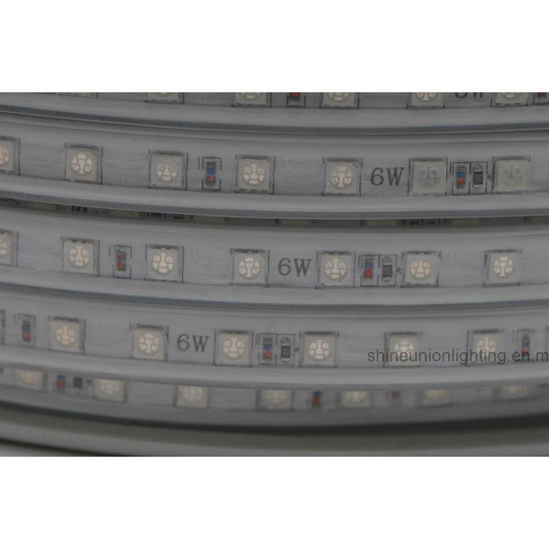 High Voltage SMD LED Strip Light-Su-Hvsmd5050-72PCS- 6W/Meter