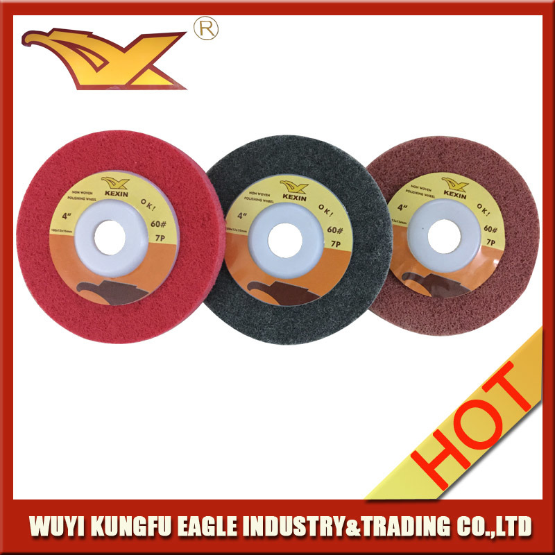 Kexin Non Woven Polishing Disc for Stainless Steel