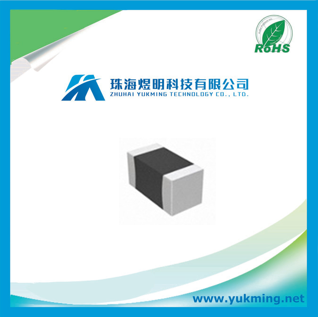 Capacitor Cc0402krx5r5bb105 of Multilayer Ceramic Chip