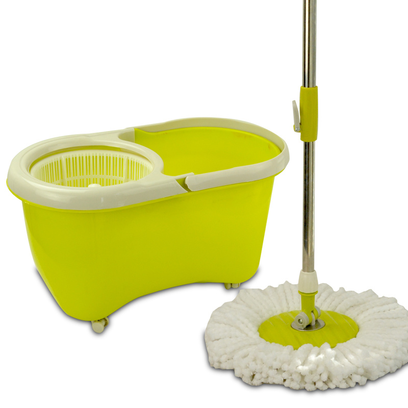 Super Hand Press Cleaning Spin Mop Bucket