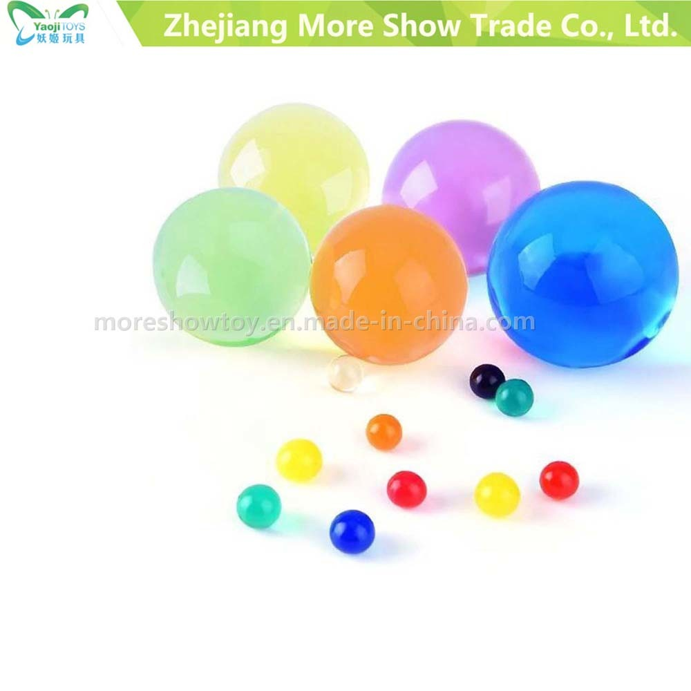 Multicolor Crystal Soil Water Absorbent Pearls Wedding Decoration Beads