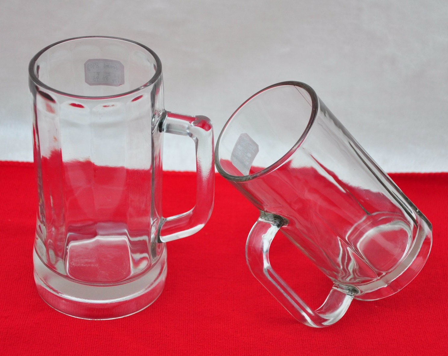 540ml with Handle Transparent Beer Cup New Glass Cup